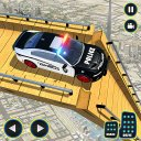 Real Police Ramp Games: Bike Stunt Car Stunt Games