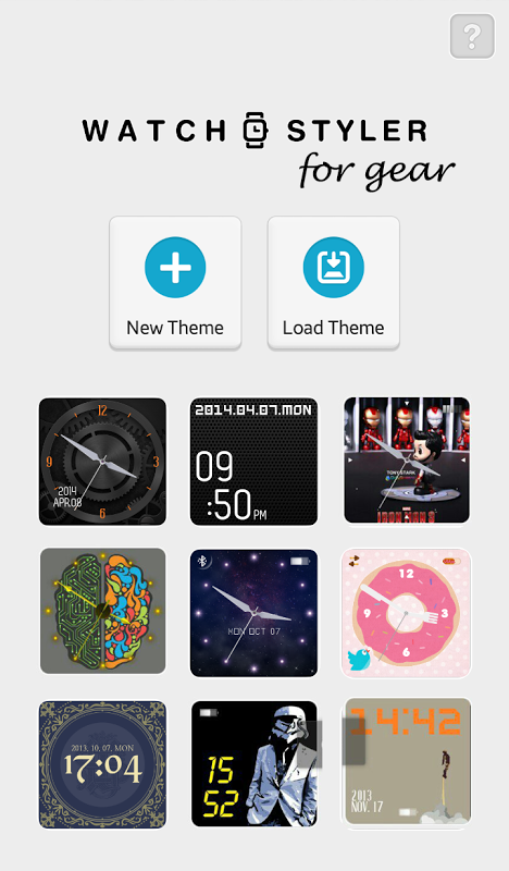 Watch Styler for Gear screenshot 1