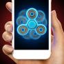 laser fidget hand spinner icon