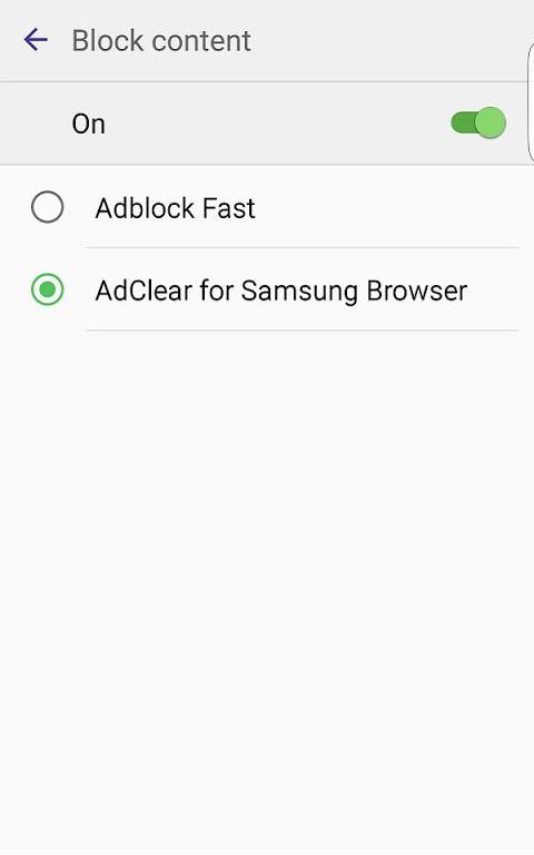 AdClear Content Blocker screenshot 1
