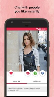iDates - Chat, Flirt with Singles & Fall in Love screenshot 3