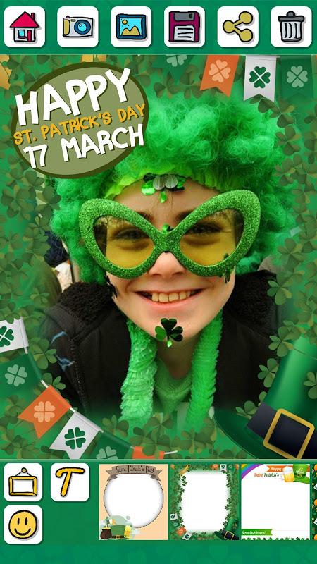 St Patrick's Day photo editor screenshot 1