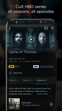HBO GO 5 6 2 Download APK for Android - Aptoide