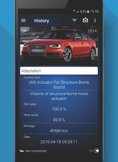 OBDeleven PRO car diagnostics app VAG OBD2 Scanner screenshot 7