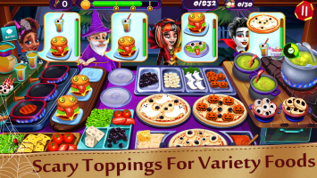 Halloween Cooking: Chef Madness Fever Games Craze Screen