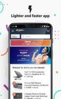 Amazon India Online Shopping Screen