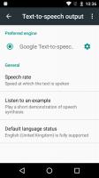Google Text-to-Speech Screen