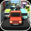 Blocky Pixel Traffic Racer