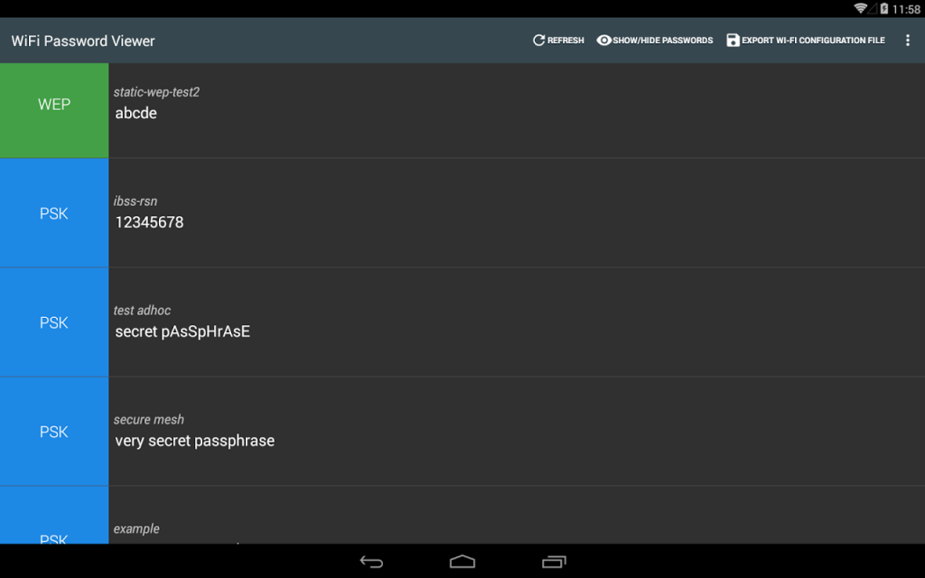 WiFi Password Viewer (Root)   Download APK for Android ...