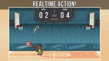 Basketball PVP Screen