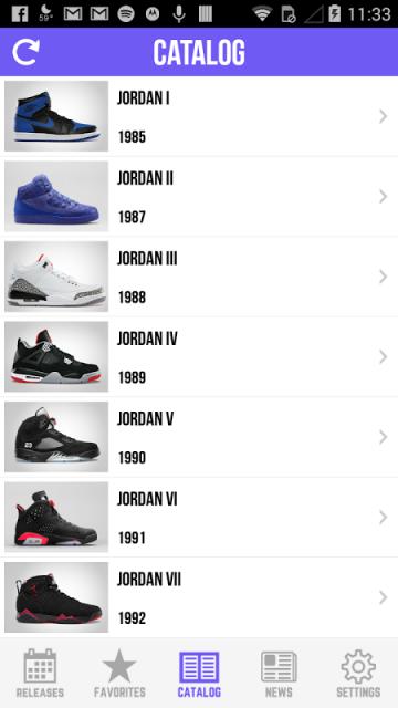 Sneaker Crush - Release Dates for Air Jordan & Nike Sneakers! - iOS ...