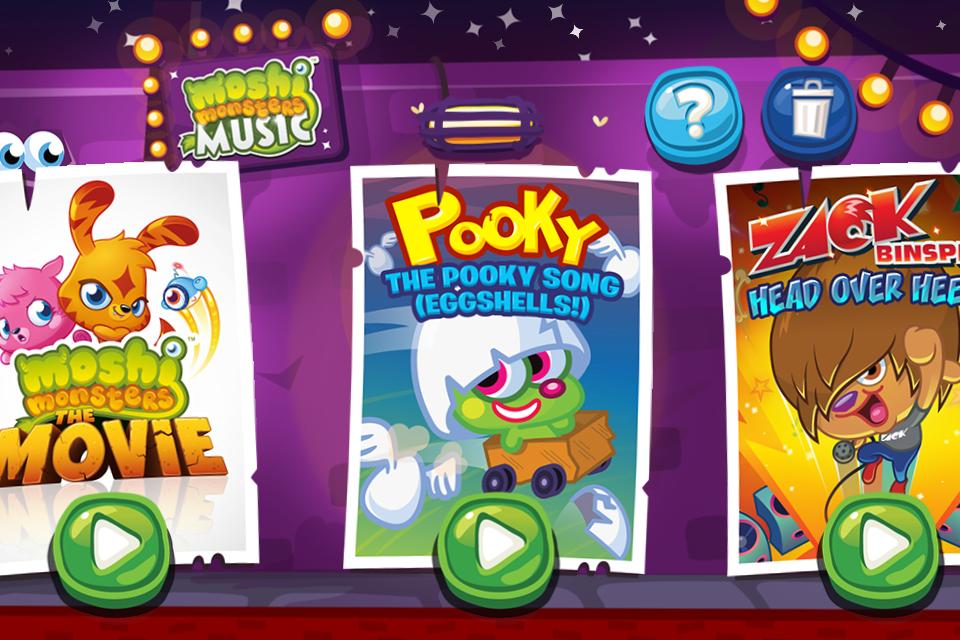 Moshi Monsters Music screenshot 2