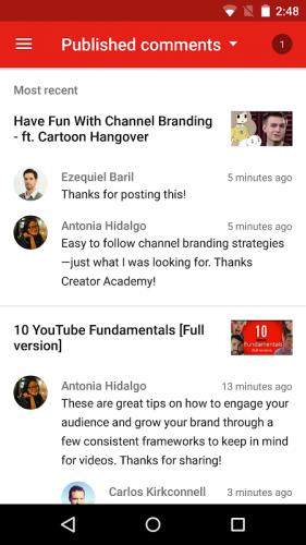 YouTubeStudio screenshot 6
