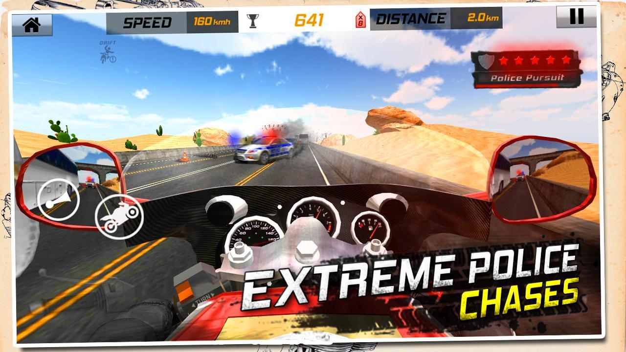 Traffic Rider: Highway Race screenshot 2