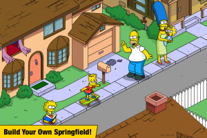 The Simpsons™:  Tapped Out Screen