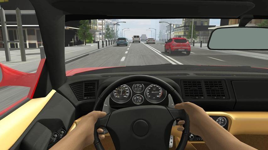 Racing in Car 2 screenshot 2
