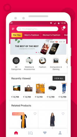 1b9ee0c6392 Snapdeal Online Shopping App - Shop Online India 6.8.1 Download APK ...