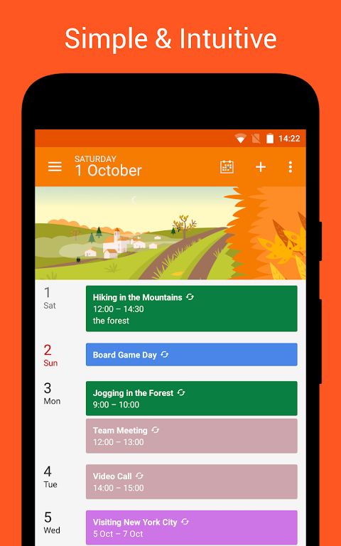 DigiCal Calendar screenshot 4