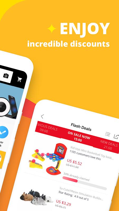 AliExpress Shopping App- $100 Coupons For New User screenshot 2