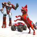 Wild Fox Transform Robot Games-Monster Truck Robot