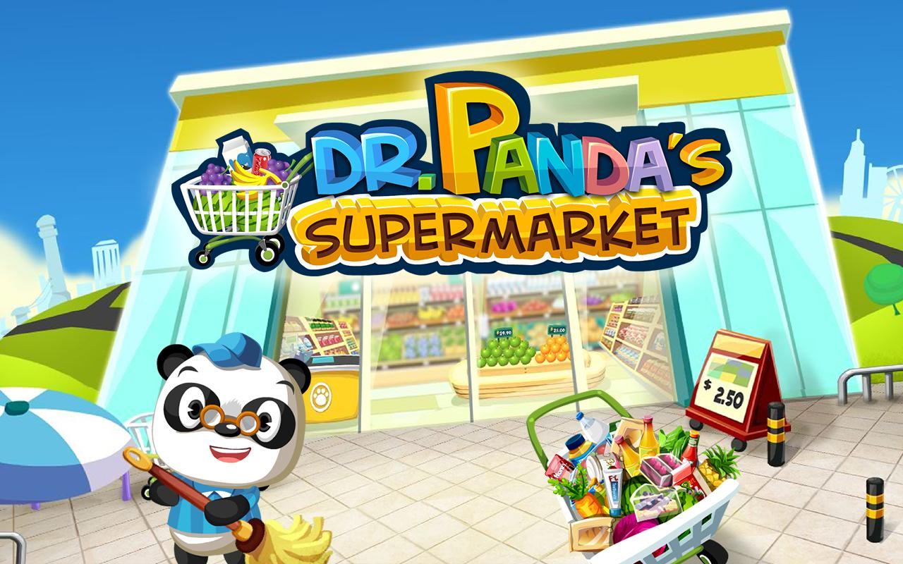 Dr. Panda Supermarket screenshot 1