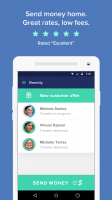 Send Money with Remitly Screen