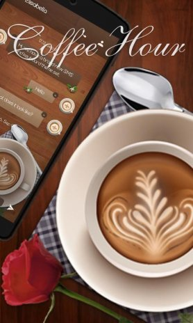 FREE) GOSMS COFFEE HOUR THEME 1 1 Download APK for Android