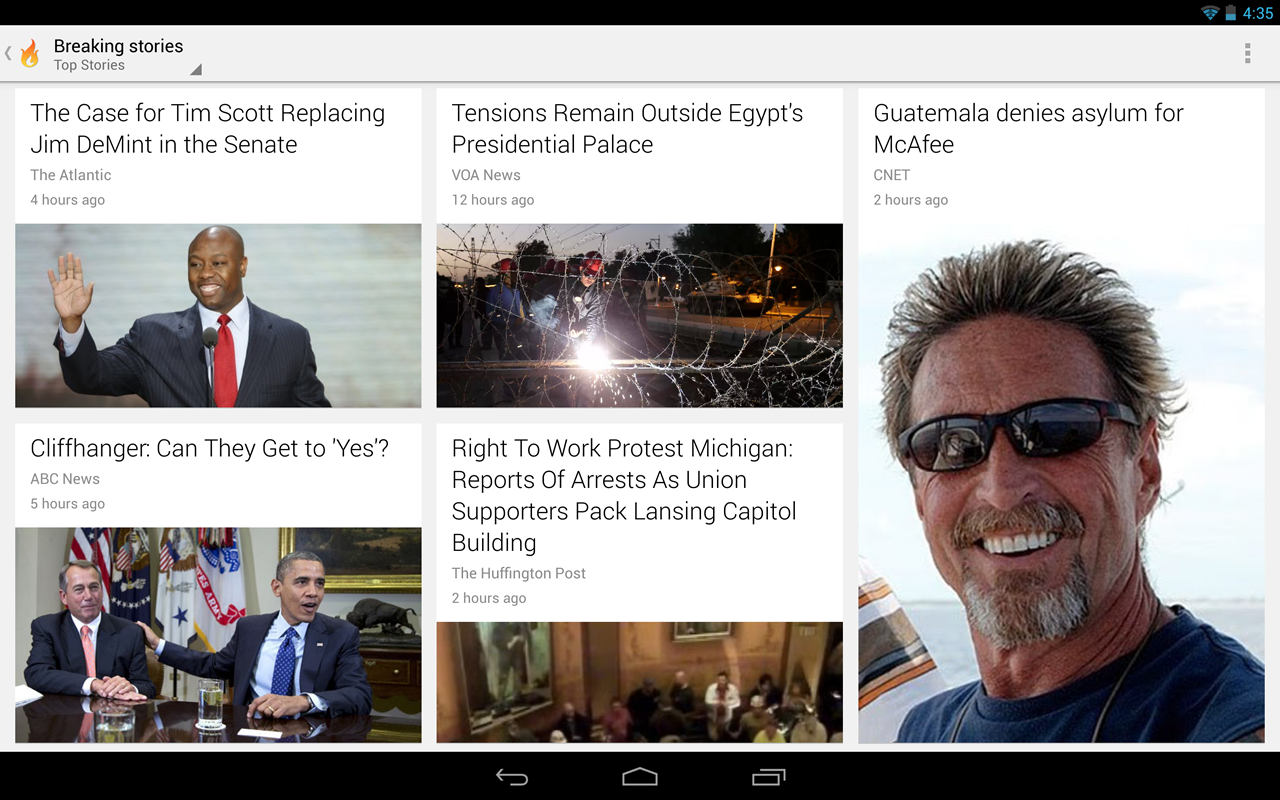 Google Currents screenshot 2