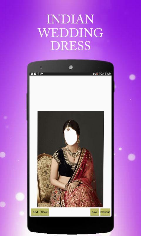Indian Wedding Dresses screenshot 1