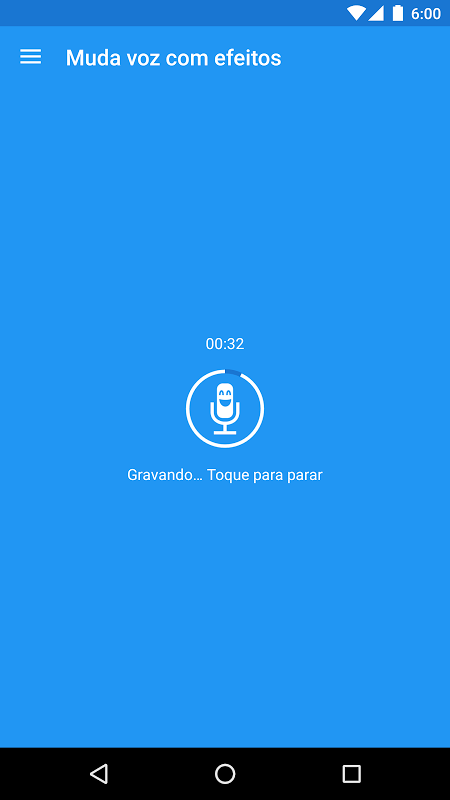 Muda voz com efeitos screenshot 1
