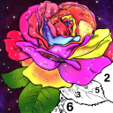 Color By Number & Paint By Number Coloring Book