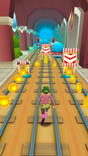 Subway Princess Surf - Endless Run screenshot 8