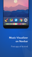Muviz – Navbar Music Visualizer Screen