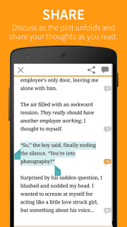 Wattpad screenshot 5
