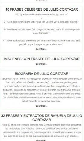 Frases De Julio Cortazar 1 2 Download Apk Voor Android Aptoide