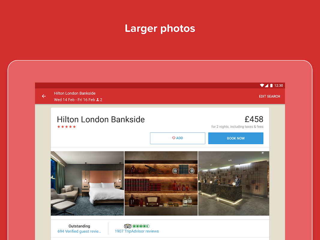 Hotels.com: Search Hotel Rooms & Book your Travel screenshot 5