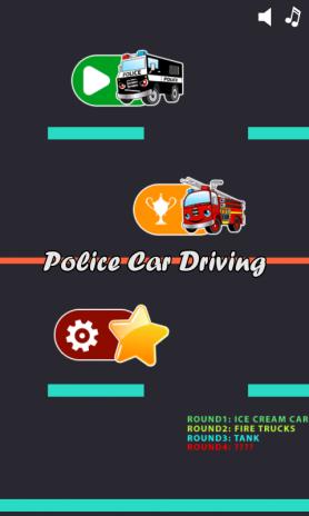police car games for kids free screenshot 3