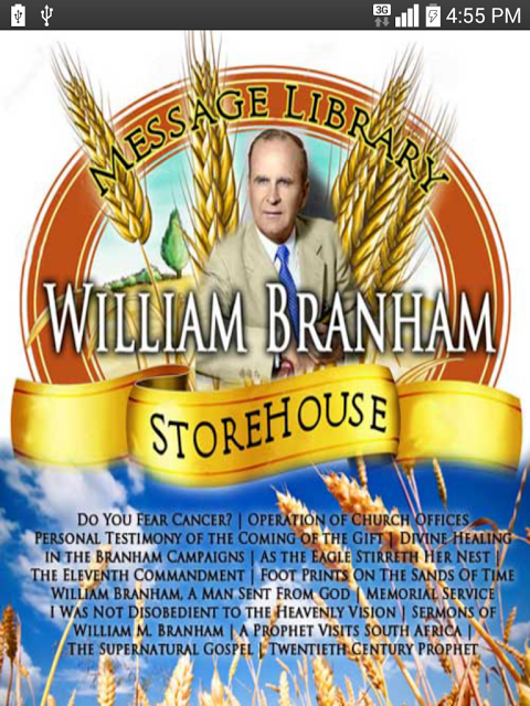 William Marrion Branham Messages Epub