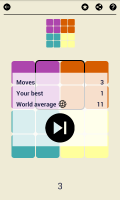 Ruby Square: logic puzzle game (700 levels) Screen