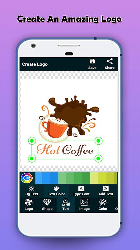 Logo Maker - Logo Creator & Poster Maker screenshot 1