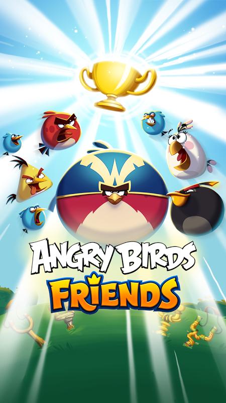 Angry Birds Friends screenshot 1