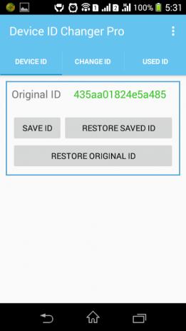 تحميل APK لأندرويد - آبتويد Device ID Changer Pro [ADIC]4 4