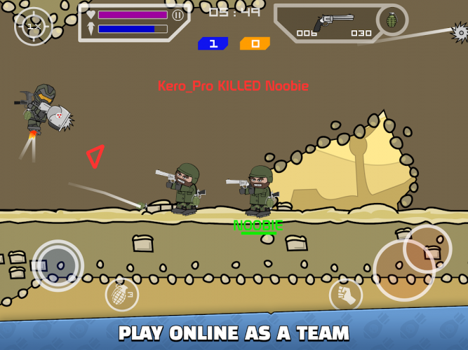 Doodle Army 2 : Mini Militia screenshot 7