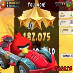 angry birds go 1.0.1 hack apk