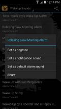 Wake Up Alarm Clock Ringtones Screenshot