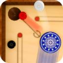 Mini Carrom Board: König der Pool-Spiele