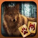 Mahjong - Wölfe