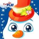 Fun Snowman Kindergarten Games