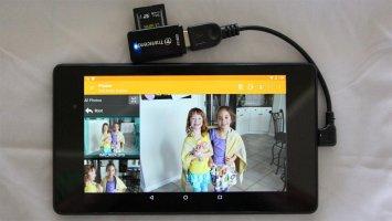 USB Media Explorer Screen