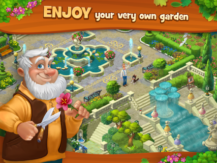 Gardenscapes screenshot 15